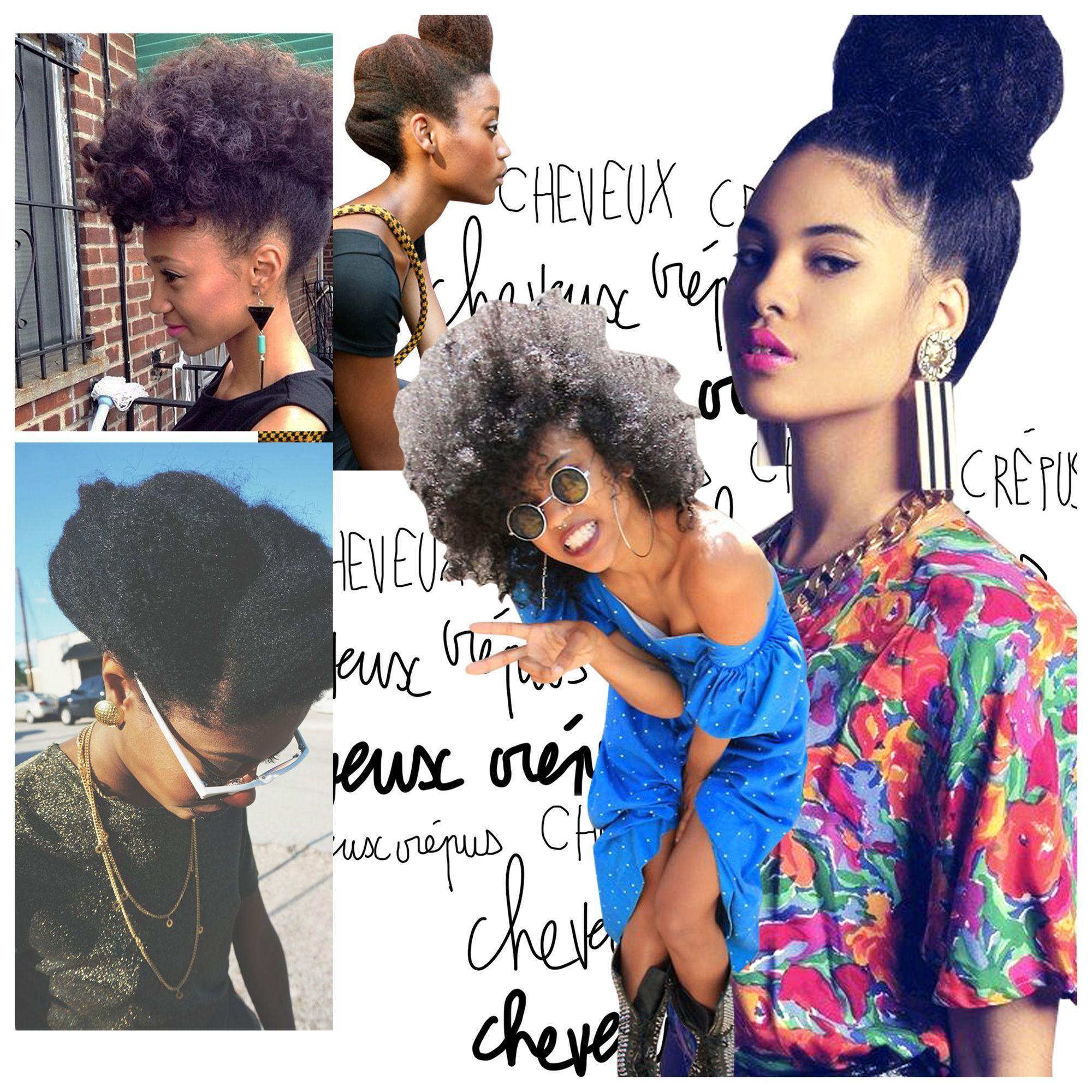 Cheveux crépus : 20 idées de coiffures simples mais pointues