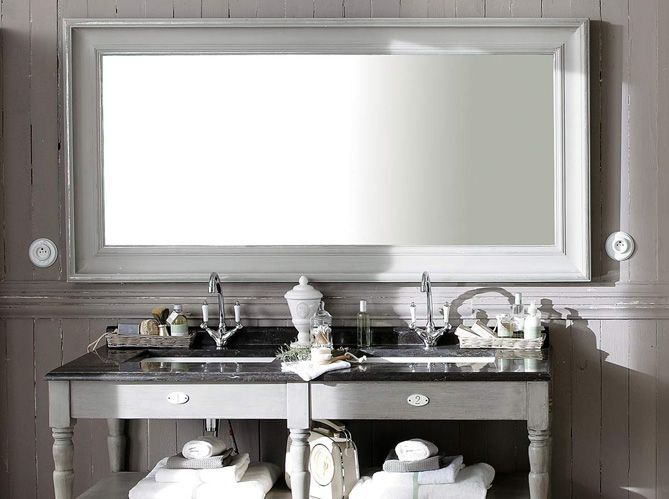 Miroir salle de bain - Elle Décoration