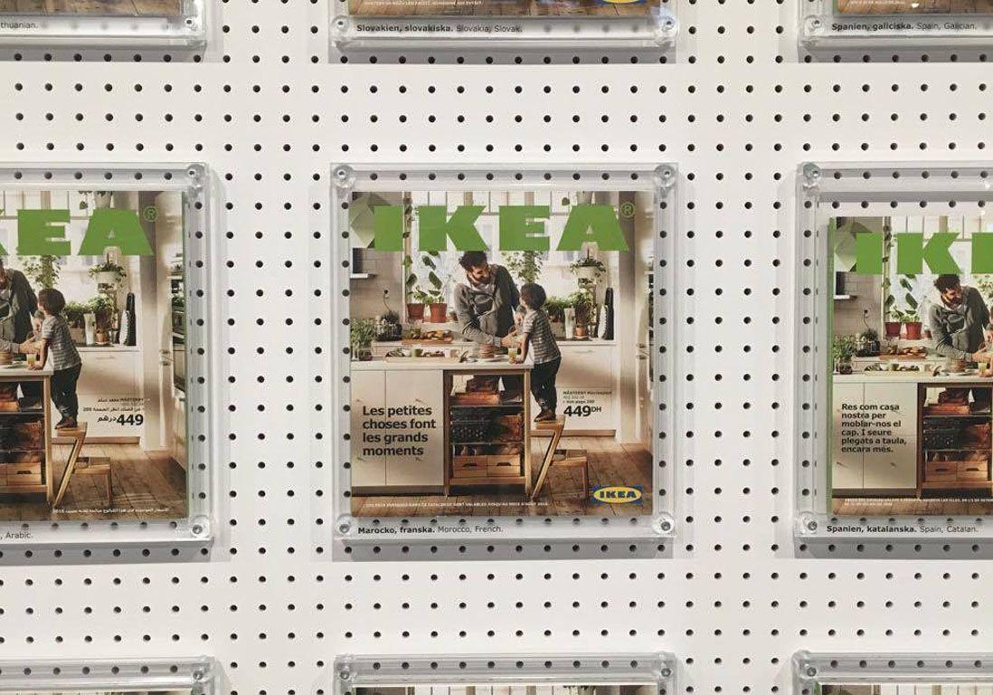 Les coulisses du catalogue ikea elle d coration for Catalogue deco