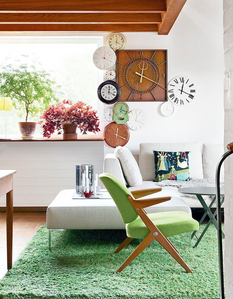 elle d co d couvrez les int rieurs des r dacteurs en chef elle d coration. Black Bedroom Furniture Sets. Home Design Ideas