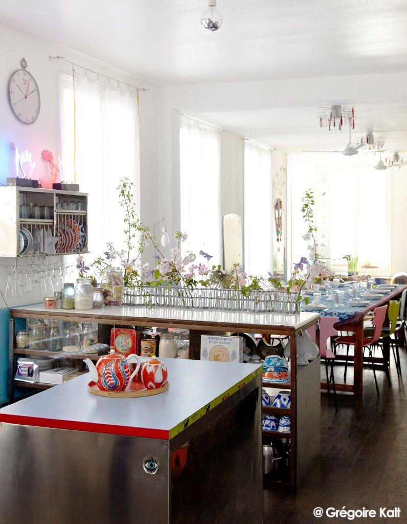 la maison nomade de catherine levy elle d coration. Black Bedroom Furniture Sets. Home Design Ideas