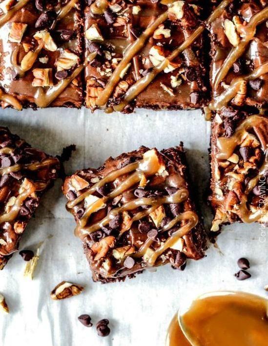 10 recettes de brownie américain à tomber