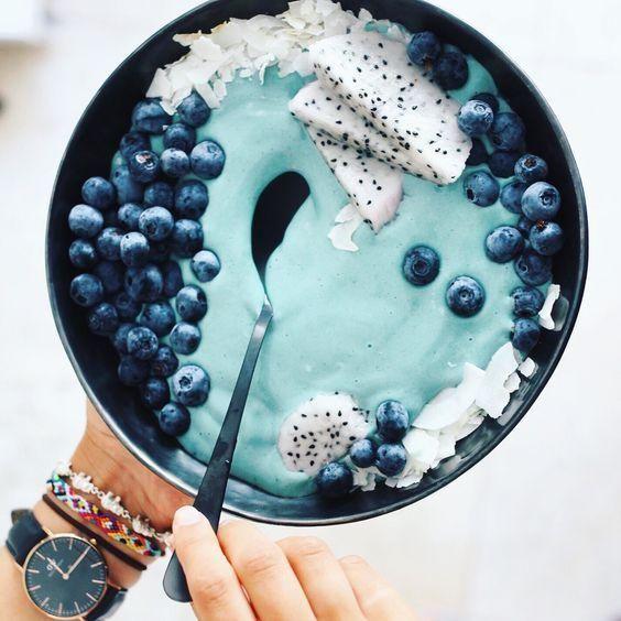 """Comment l'algue blue majik """"é-bleuit"""" Pinterest ?"""