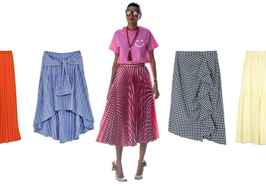 jupe longue 20 jupes longues pour un t romantique et. Black Bedroom Furniture Sets. Home Design Ideas