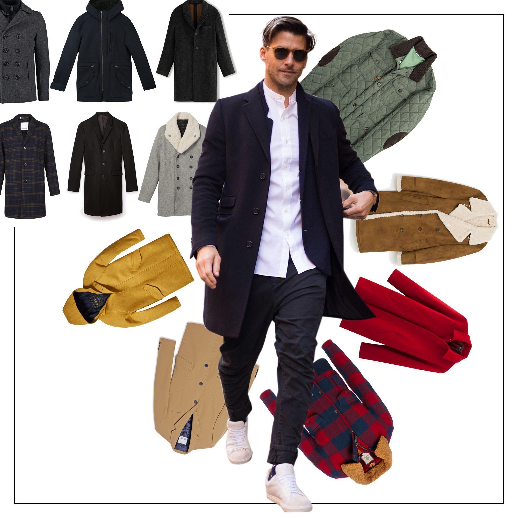 Shopping : 30 beaux manteaux pour homme