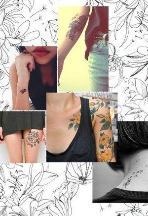 20 tatouages fleuris qui font envie
