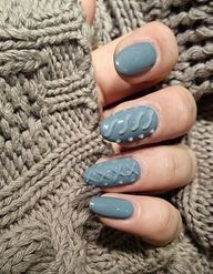 #Knittednails : les ongles pull-over réchauffent Instagram