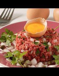 Tartare de boeuf au couteau et wedges de pommes de terre pour 4 personnes recettes elle table - Tartare de boeuf cyril lignac ...