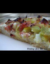 pizza blanche champignons pesto pour 4 personnes recettes elle table. Black Bedroom Furniture Sets. Home Design Ideas