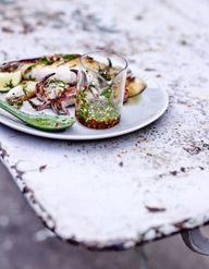 Scampis grill s pour 4 personnes recettes elle table - Recette calamar grille barbecue ...