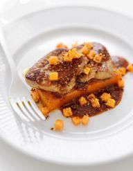 Foie gras chaud confit pommes pommes de terre pour 4 for Chutney de pommes pour foie gras