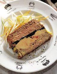magret de canard fum au foie gras pour 4 personnes recettes elle table. Black Bedroom Furniture Sets. Home Design Ideas