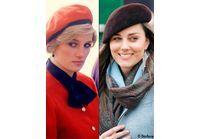 Lady Diana / Kate Middleton : deux princesses, deux styles