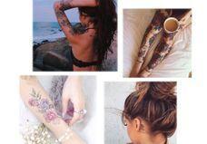 Ces tatouages de rose qui ne faneront jamais