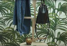DIY facile : un portemanteau en bois à partir d'un tabouret Ikea