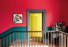 Peindre son couloir en couleur, le détail qui change tout