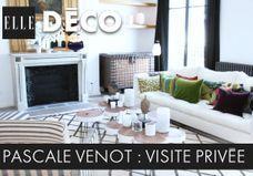 #ELLEDécoInside : découvrez le duplex bohème-chic de Pascale Venot