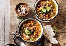 55 soupes de légumes d'hiver