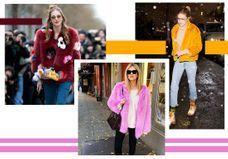 Gigi Hadid, Chiara Ferragni, Kendall Jenner… Elles sont toutes accros à la fausse-fourrure colorée