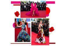 Festival de robes insolites à Cannes