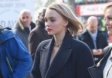 Johnny Depp sur sa fille : « Lily-Rose me dit tout ! »