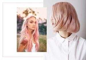 le blond fraise la coloration candy qui sduit les filles - Coloration Blonde Maison