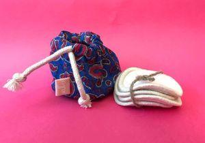 #ELLEBeautyCrush : les cotons bio et réutilisables de la marque française Kufu