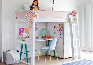 chambre enfant elle d coration. Black Bedroom Furniture Sets. Home Design Ideas