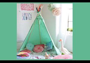 Chambre d'enfant : le tipi, la nouvelle cabane trendy !