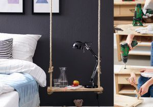 DIY : une table de chevet qui swingue !