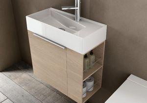 Meubles et accessoires de salle de bain elle d coration - Quel couleur pour une salle de bain ...