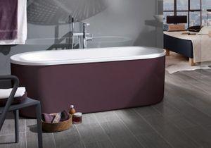 L'inspiration du jour : des vasques, baignoires et éviers hauts en couleur