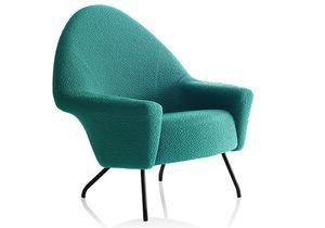 """Le fauteuil """"770"""" revisité en vert émeraude"""