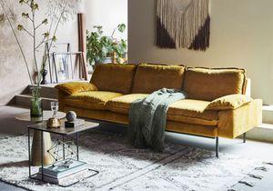 Adoptez le jaune au salon pour un effet éclatant