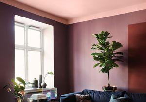 Un plafond en couleur pour réveiller une pièce