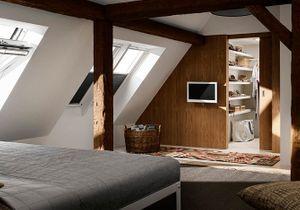 35 chambres sous les combles