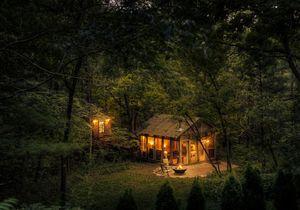Dormir dans une cabane, ça vous inspire ?