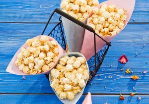 Le pop-corn, les nouvelles chips à grignoter devant un match