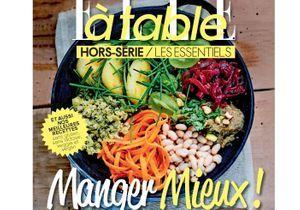 Manger mieux ! Le nouveau Hors-série de ELLE à table est en kiosque
