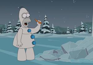 Prêt-à-liker : les Simpson parodient la Reine de neiges