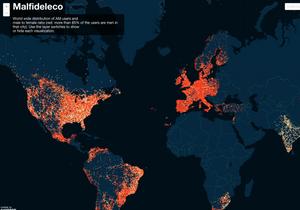Carte : découvrez où sont les infidèles dans le monde !