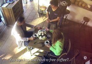 Sydney : payez votre café avec un baiser
