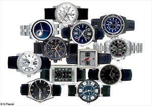 Hommes: des montres pour remonter le temps