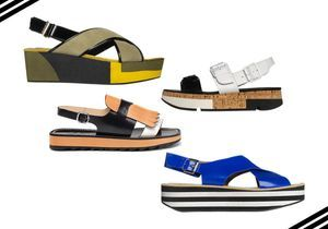 22 paires de sandales à plateforme pour prendre l'été de haut