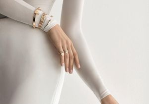 L'instant mode : les bagues et bracelet T Wrap de Tiffany and Co