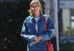 On copie le look 100% denim d'Hailey Baldwin