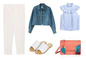 Comment porter le pantalon blanc cet été