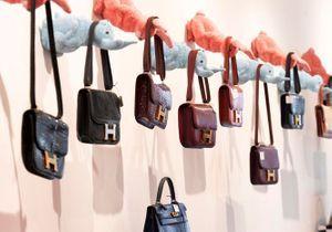 Hermès Vintage : vente aux enchères au rond-point des Champs Elysées