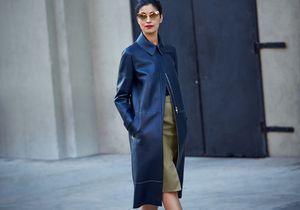 It pièce : le manteau en cuir de Caroline Issa pour Nordstrom