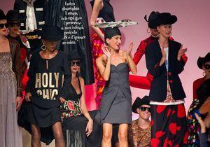 Milan : revoir le défilé Moschino par Jeremy Scott